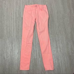 American Eagle pink jeggings size 2 stretch